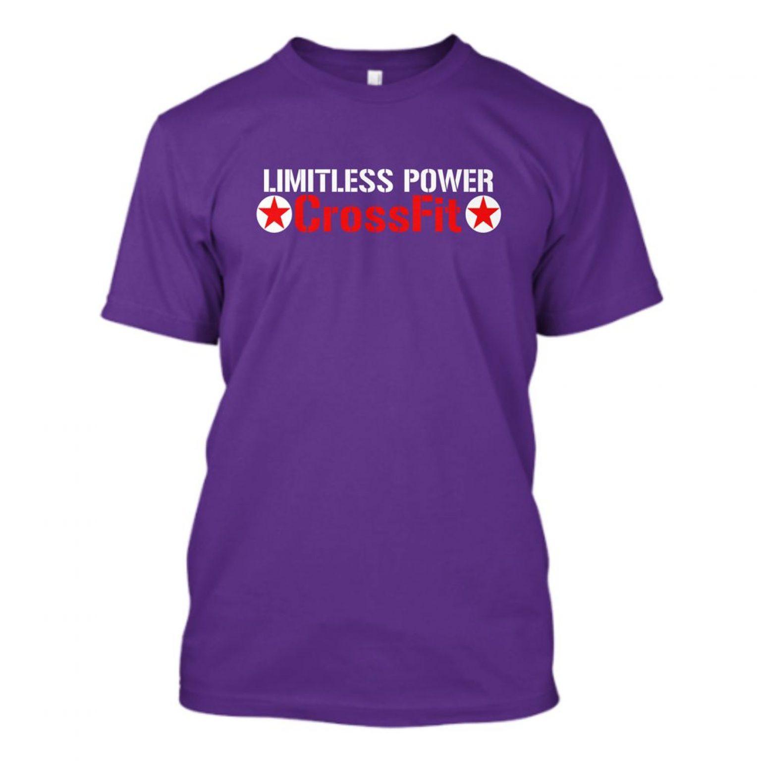 Logo Shirt purple