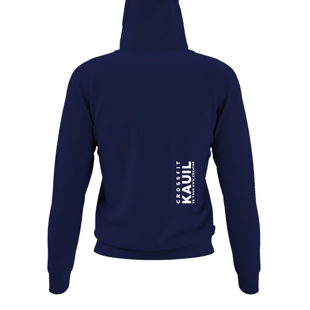 DamenHoody Navy1 weiss back