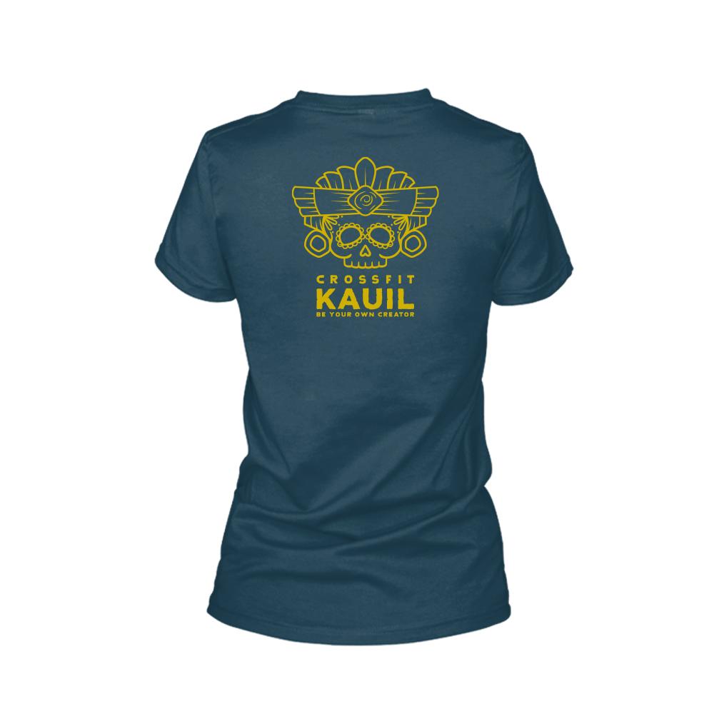 Damen Shirt Navy2 back