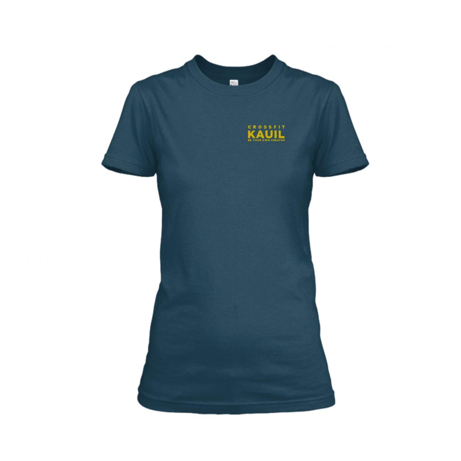 Damen Shirt Navy2 front