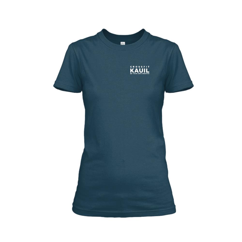 Damen Shirt Navy front