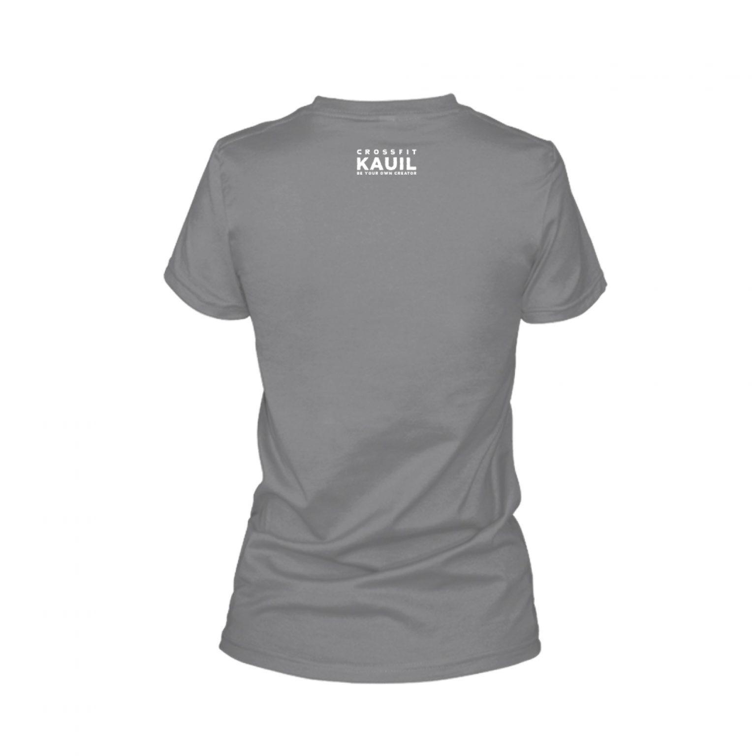 Damen Shirt REVERSED HeatherDarkGrey2 back 1