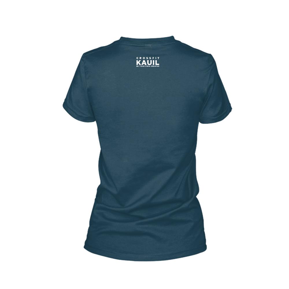 Damen Shirt REVERSED Navy2 back