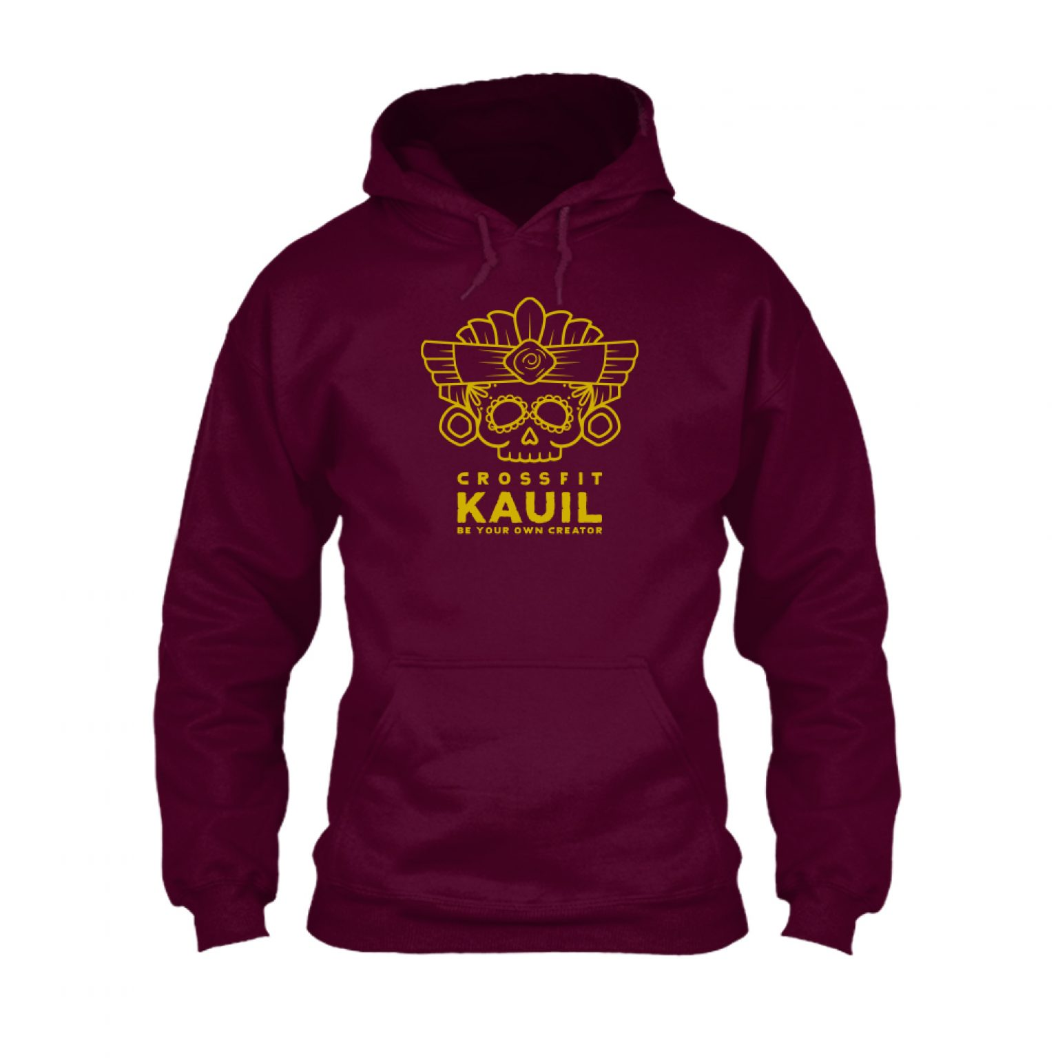 HerrenHoody Burgundy1 gold front