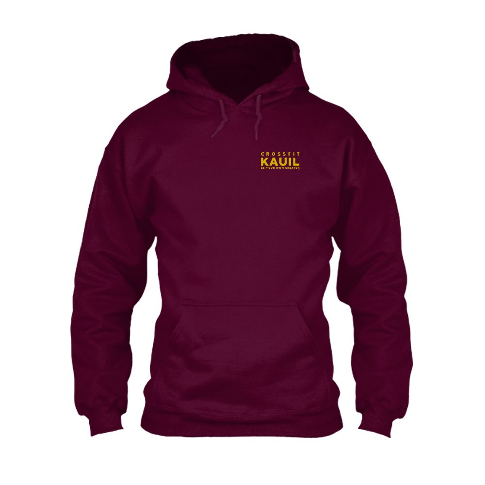 HerrenHoody Burgundy2 gold front