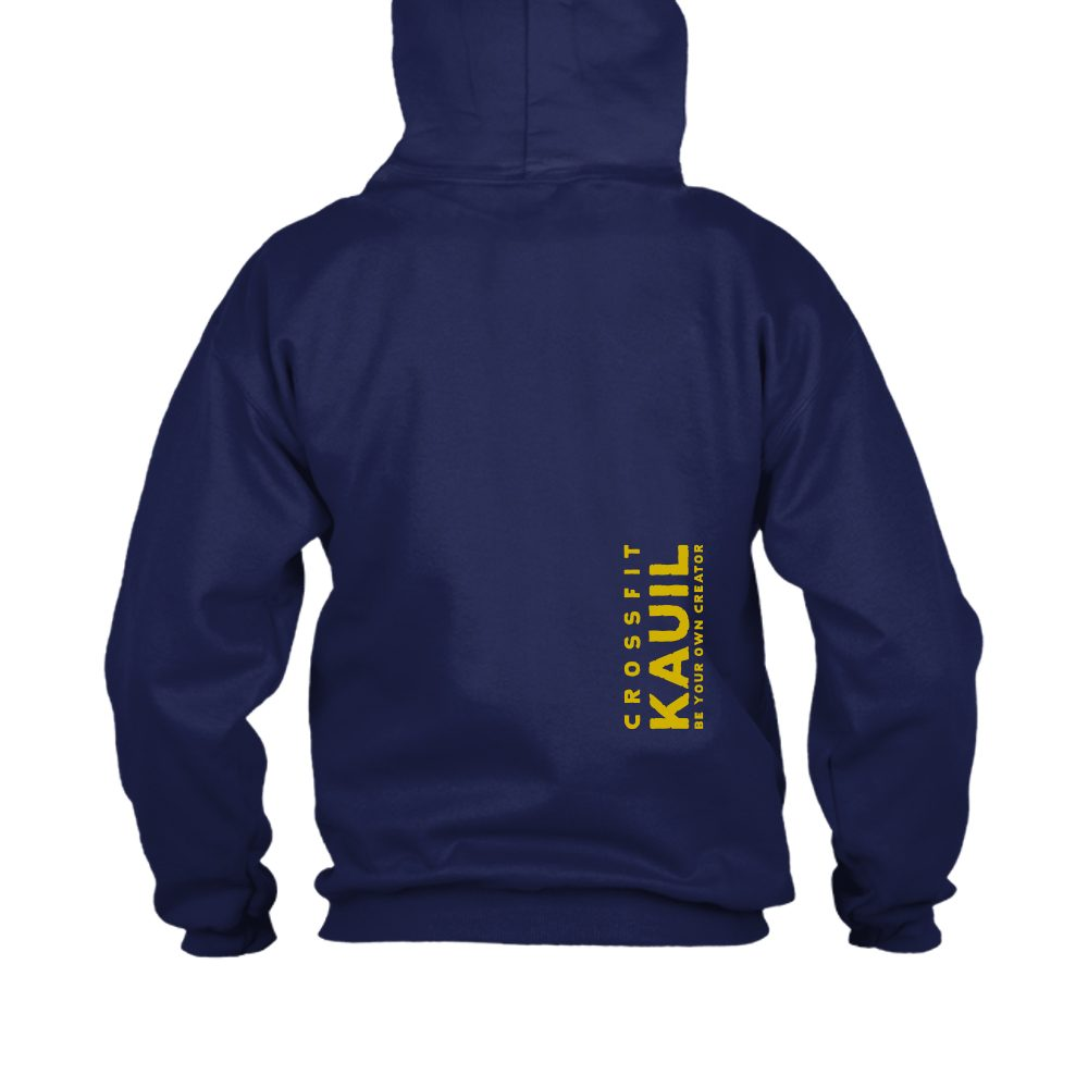 HerrenHoody Navy1 gold back