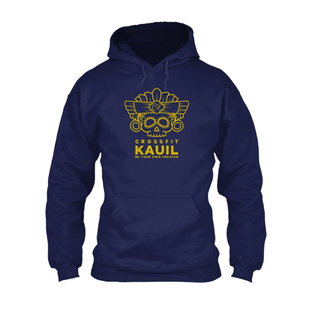 HerrenHoody Navy1 gold front