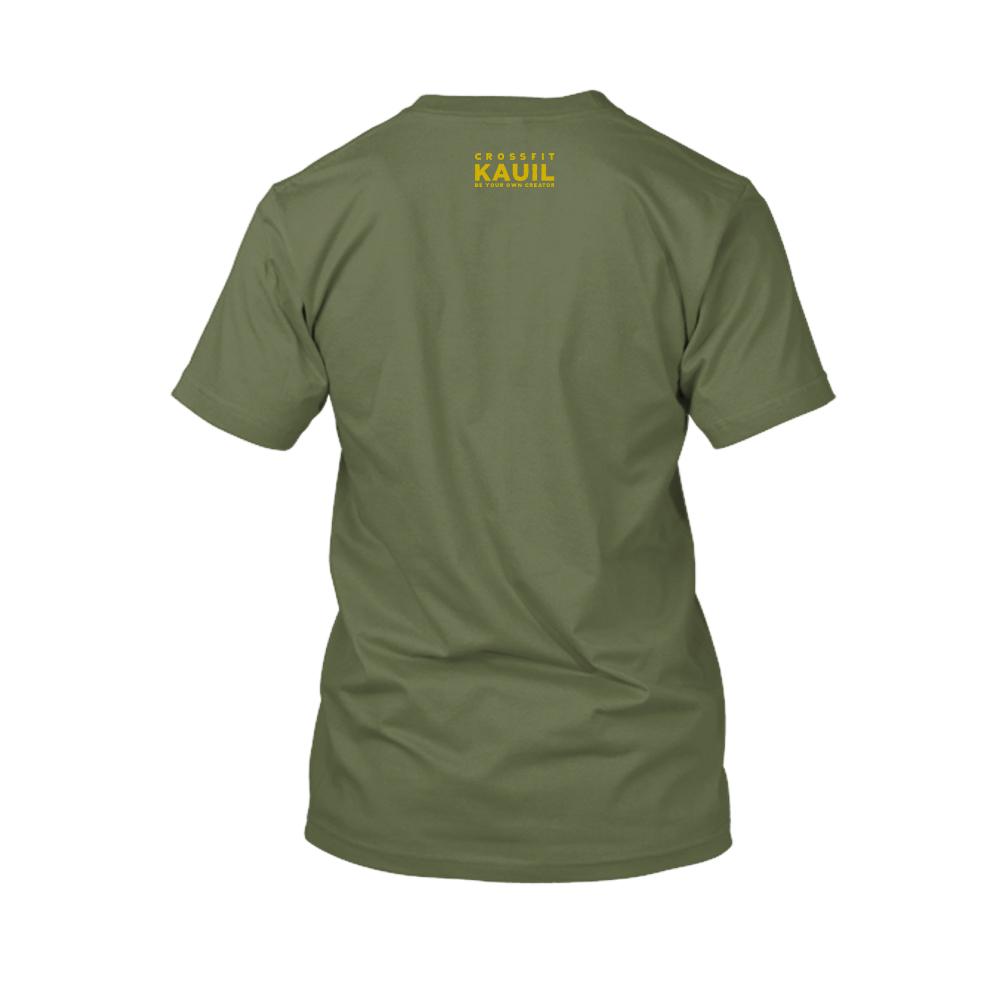 Herren Shirt Army1 gold back