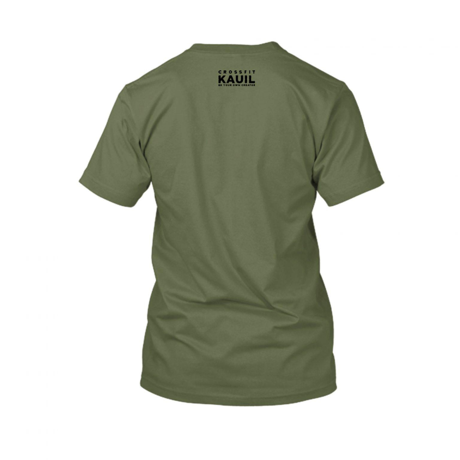 Herren Shirt Army1 schwarz back