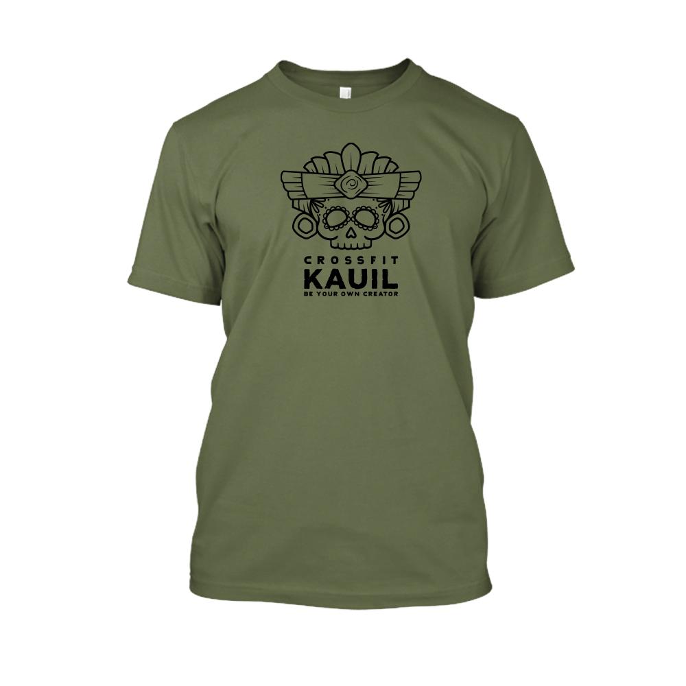 Herren Shirt Army1 schwarz front