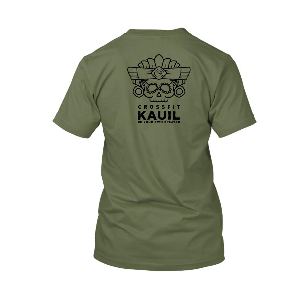 Herren Shirt Army2 schwarz back