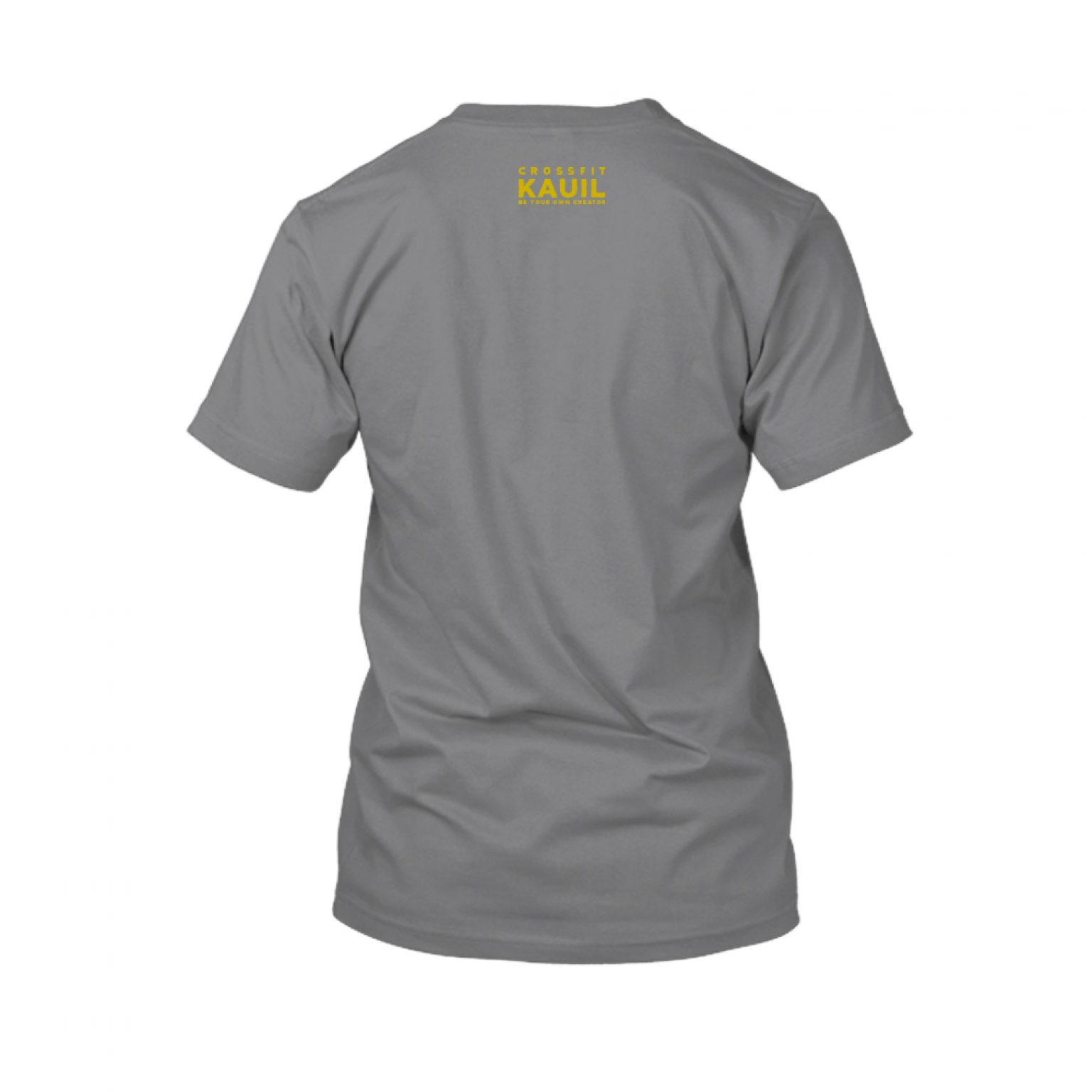 Herren Shirt HeatherDarkGrey1 gold back