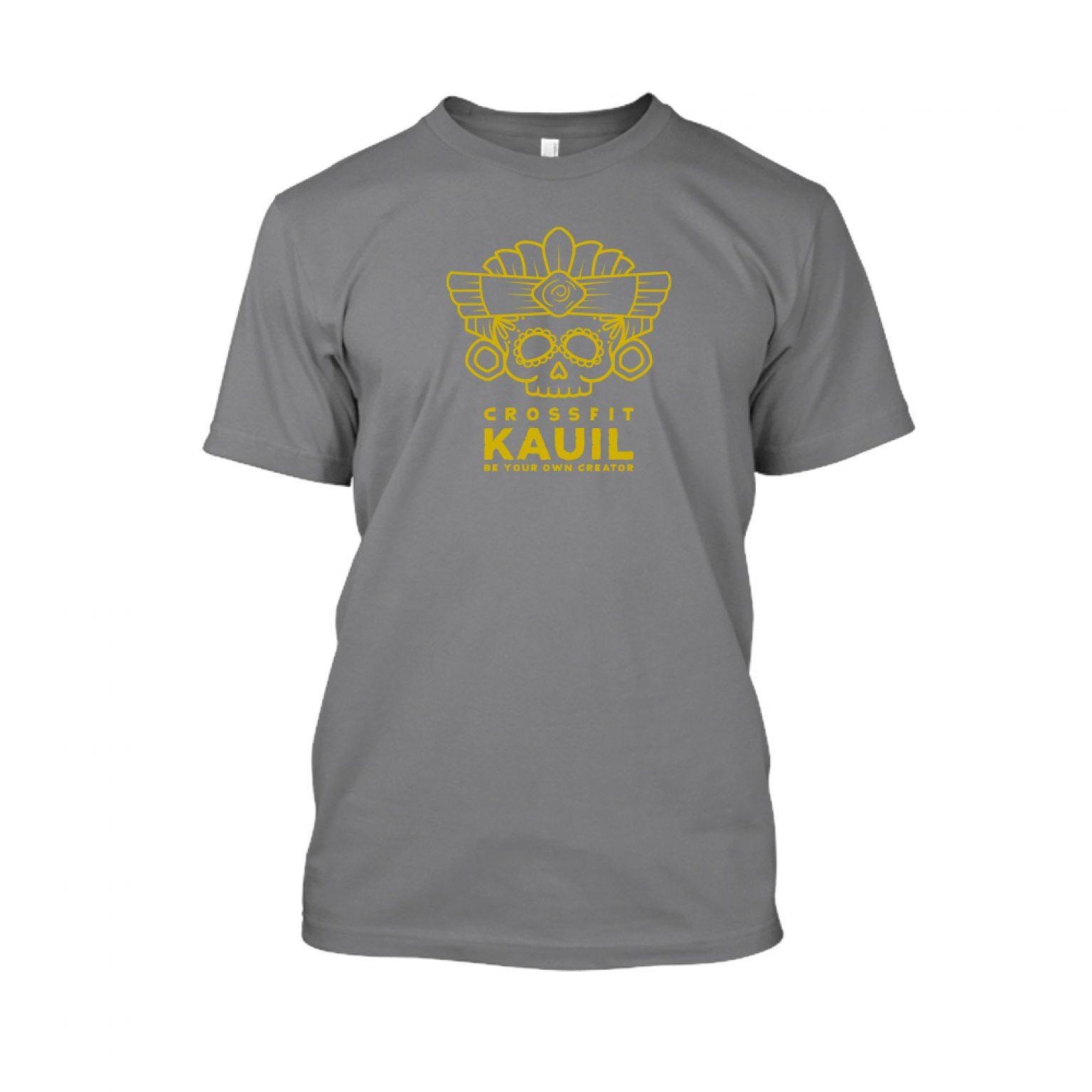 Herren Shirt HeatherDarkGrey1 gold front