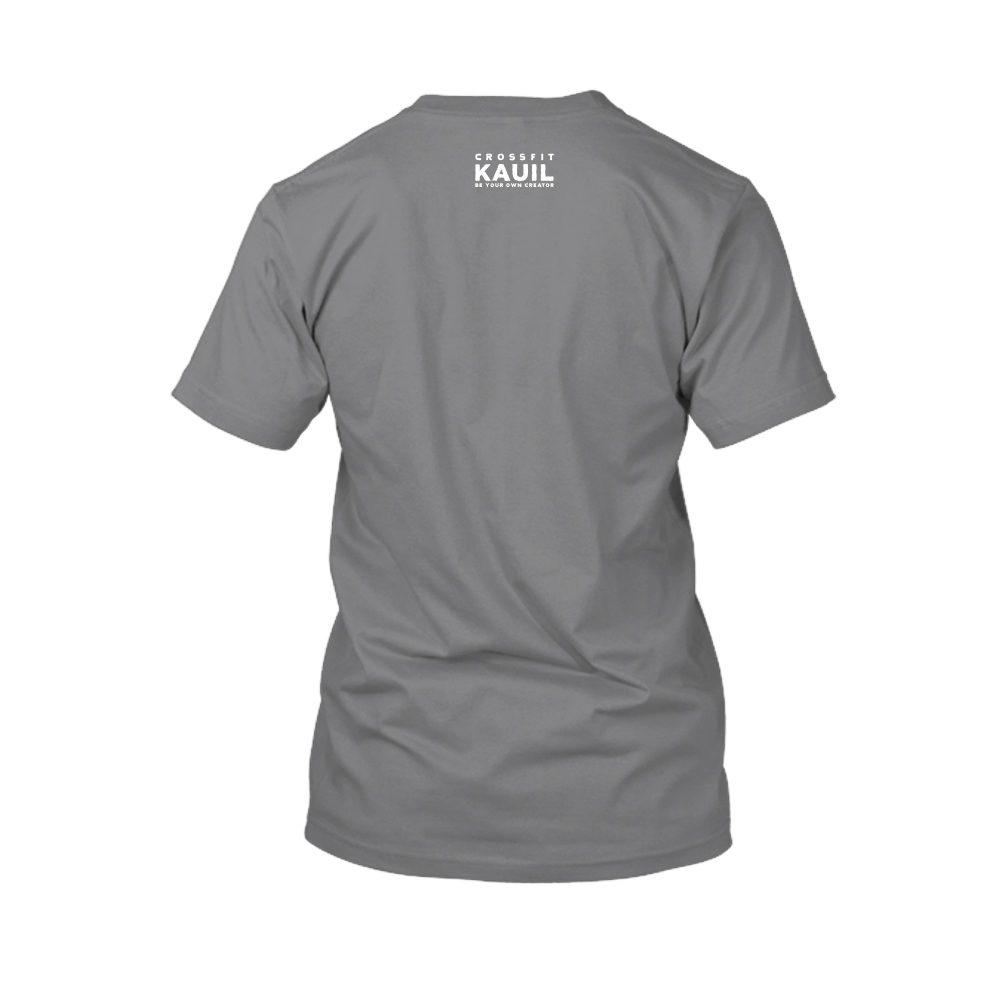 Herren Shirt HeatherDarkGrey1 weiss back