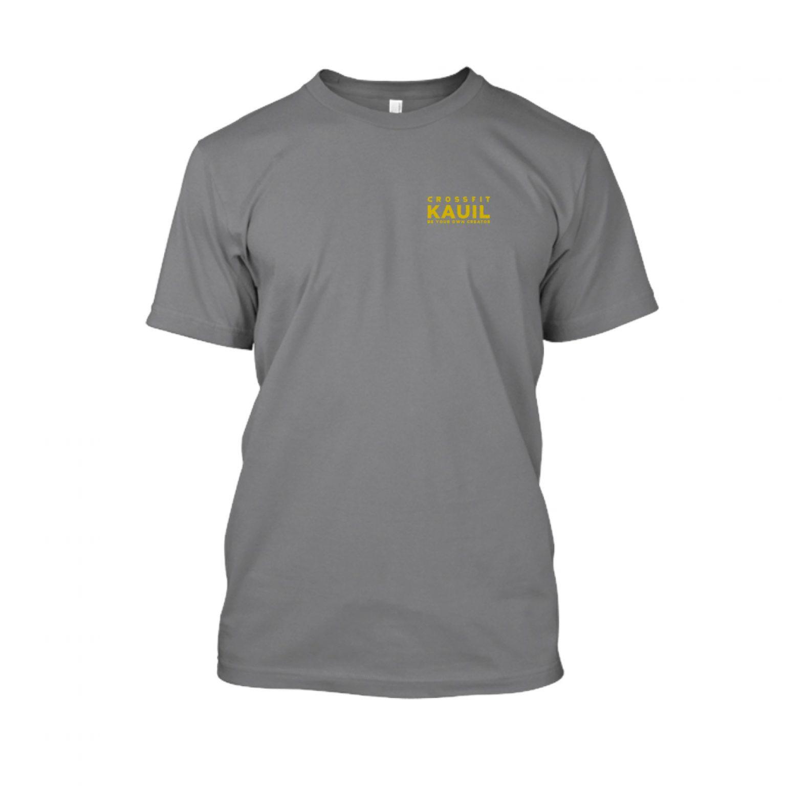 Herren Shirt HeatherDarkGrey2 gold front