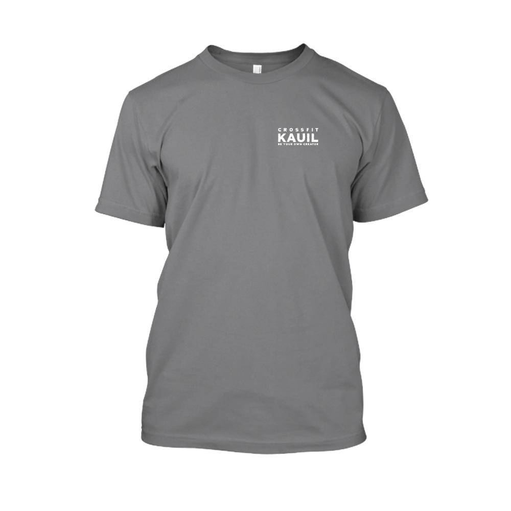 Herren Shirt HeatherDarkGrey2 weiss front