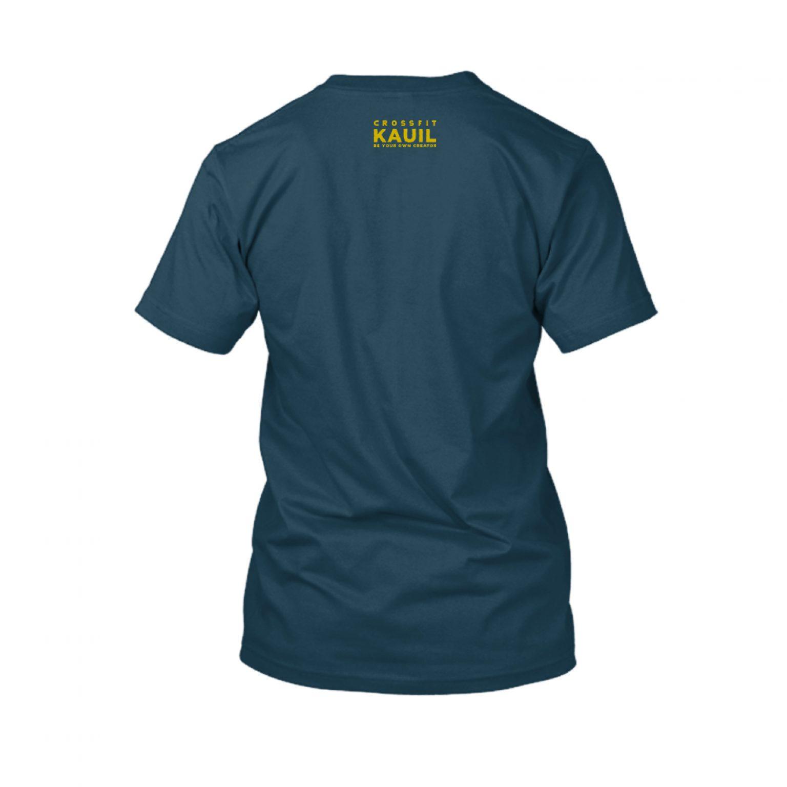 Herren Shirt Navy1 gold back