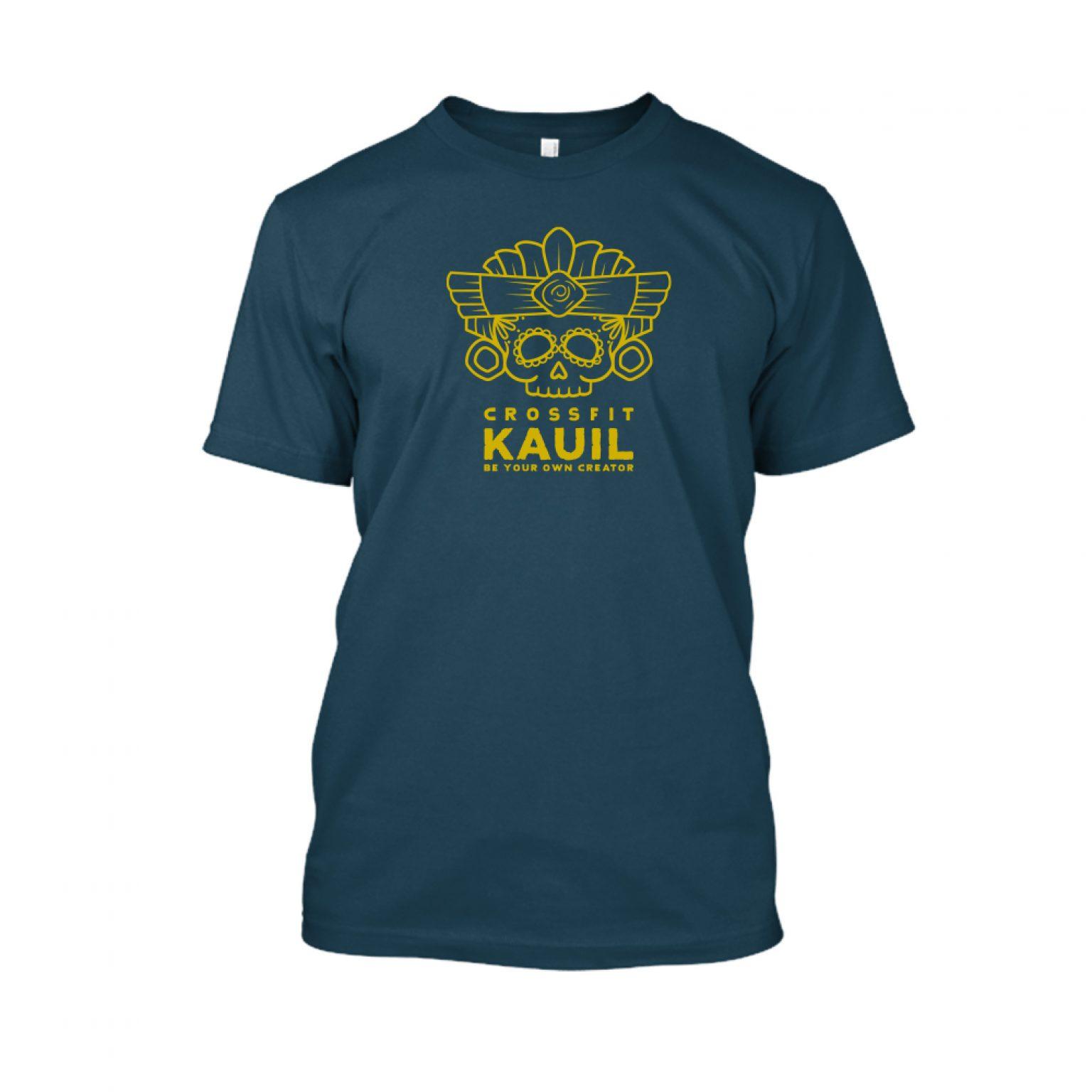 Herren Shirt Navy1 gold front
