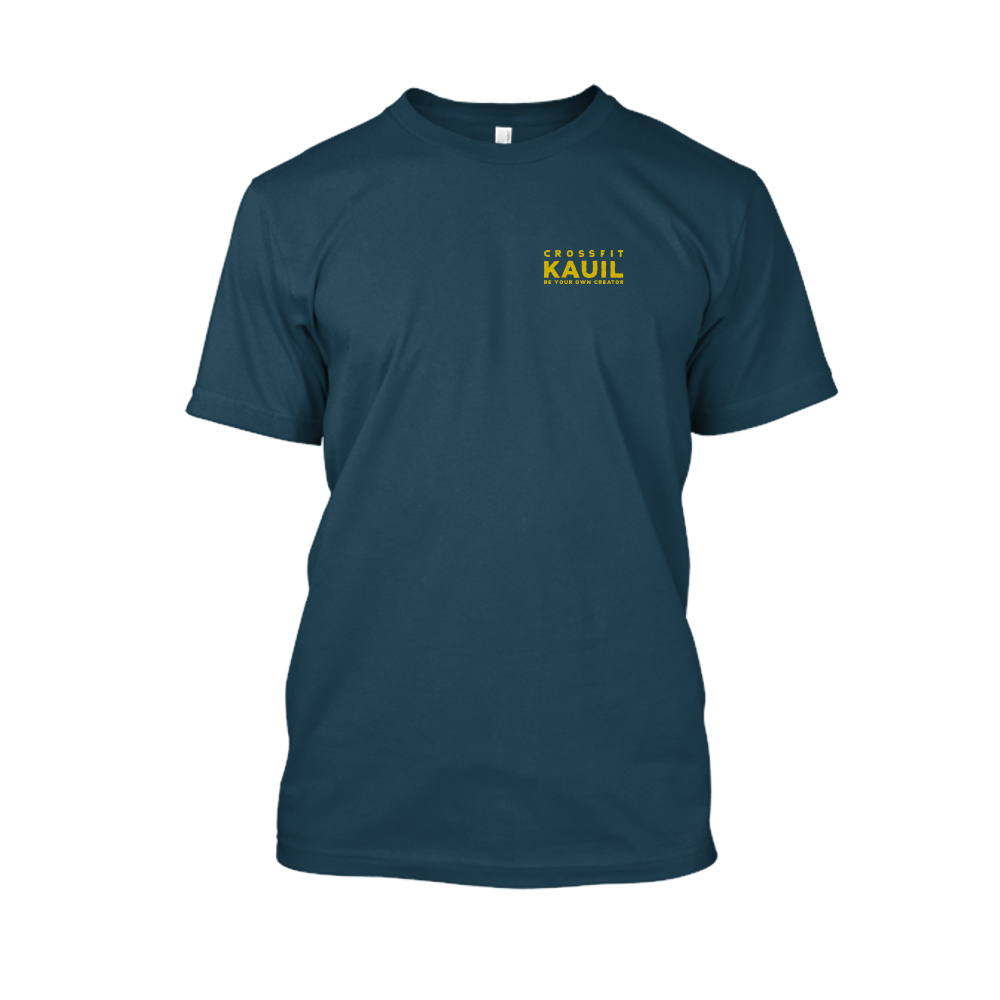 Herren Shirt Navy2 gold front