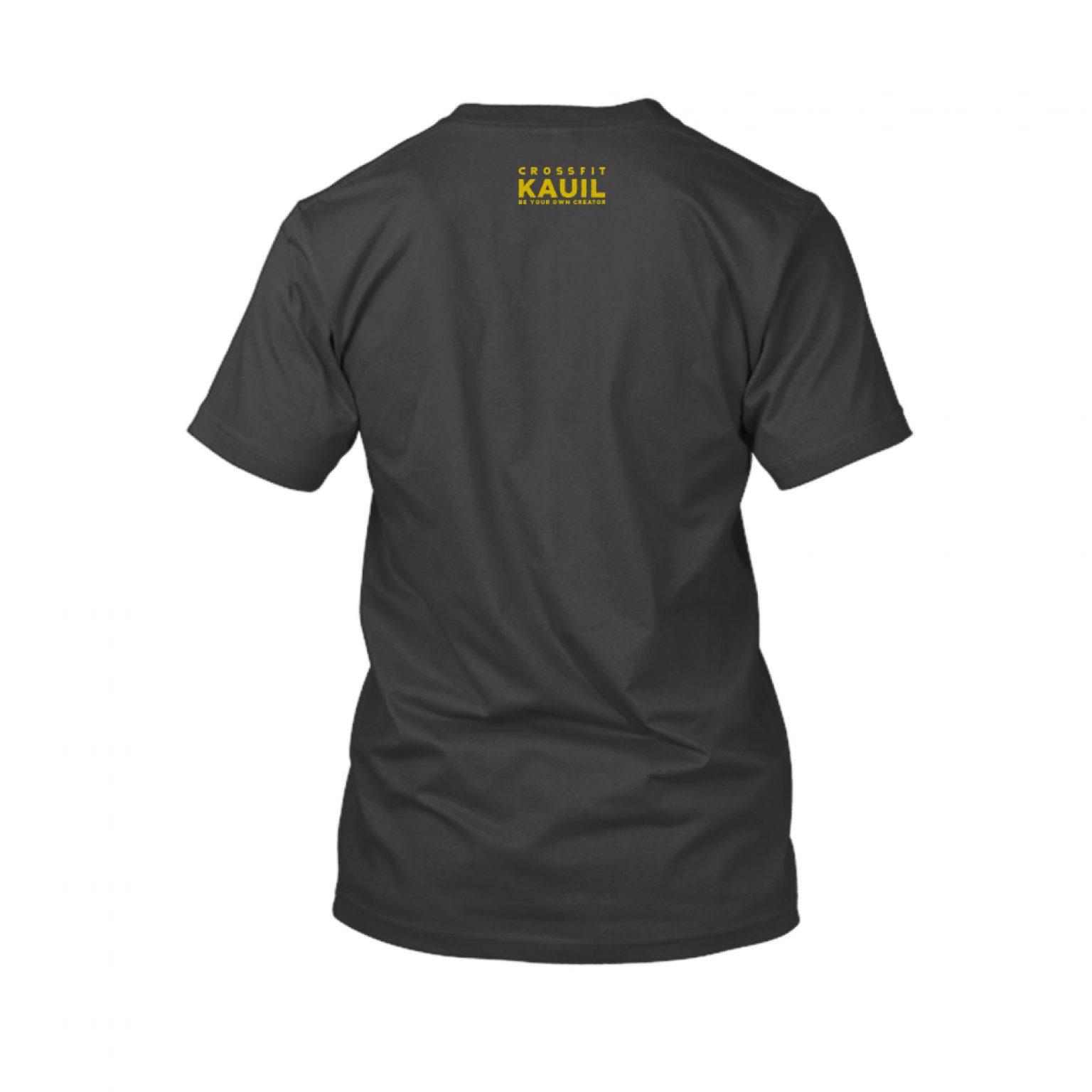 Herren Shirt Schwarz1 gold back