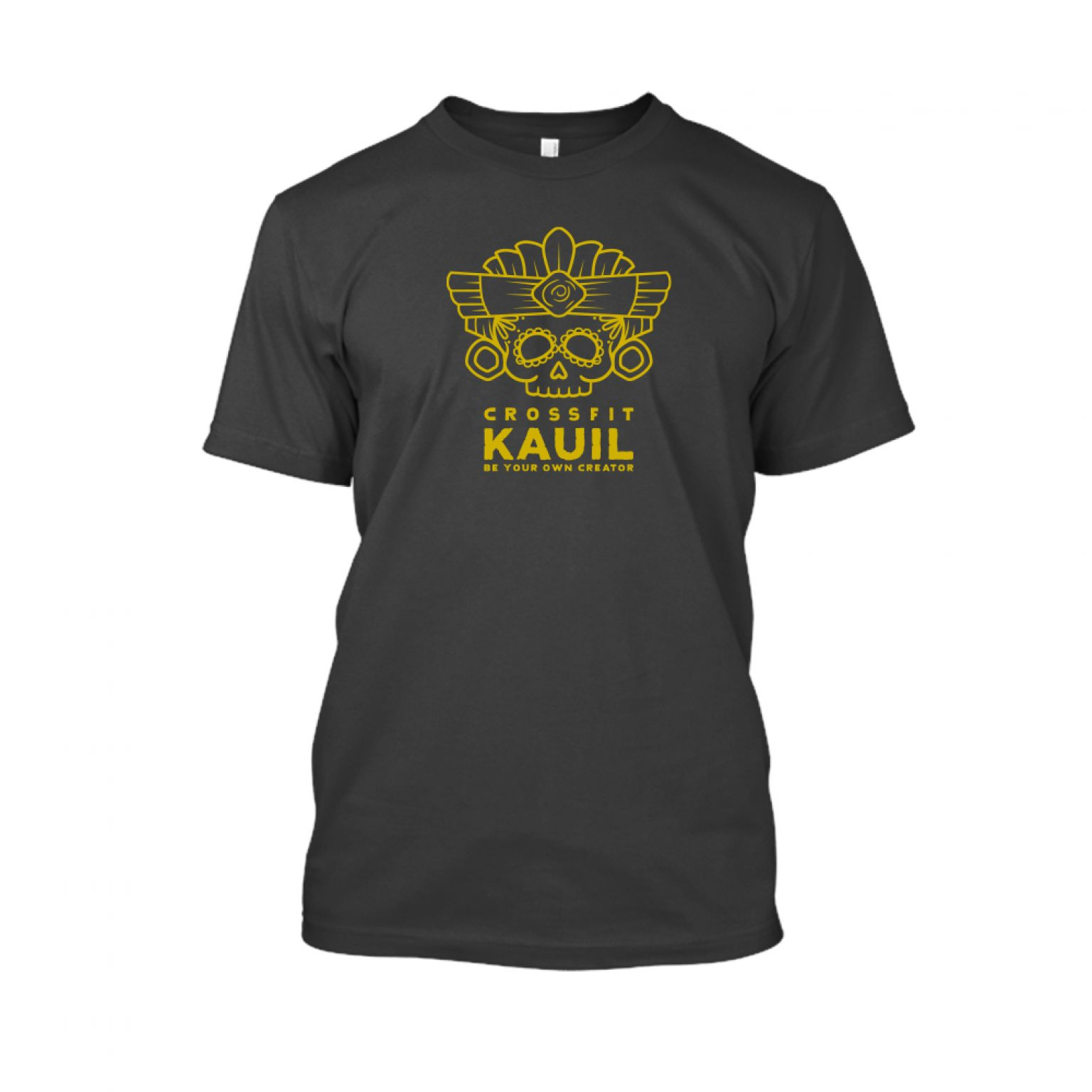 Herren Shirt Schwarz1 gold front