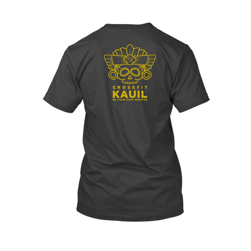 Herren Shirt Schwarz2 gold back