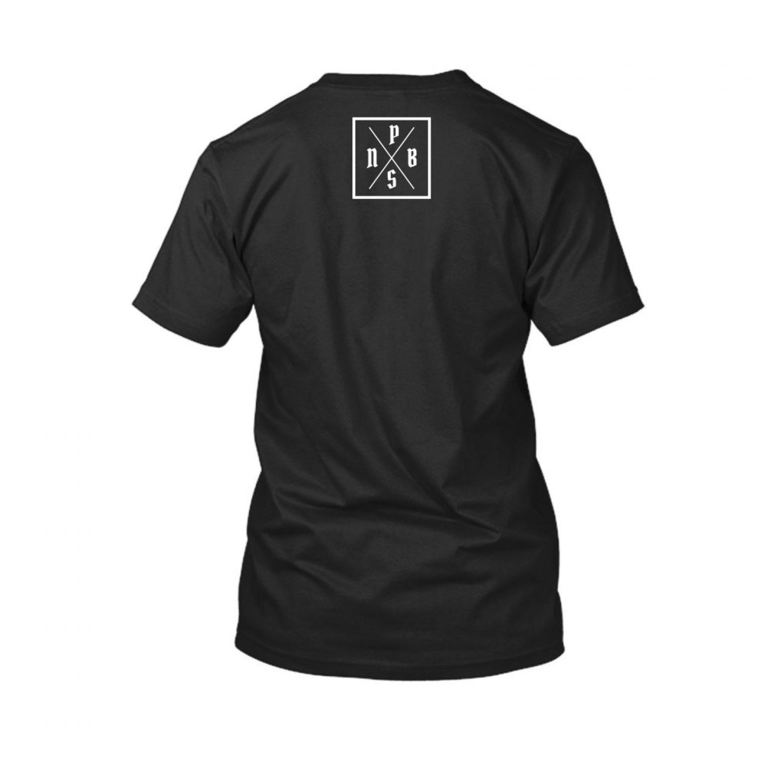 PBS shirt black back