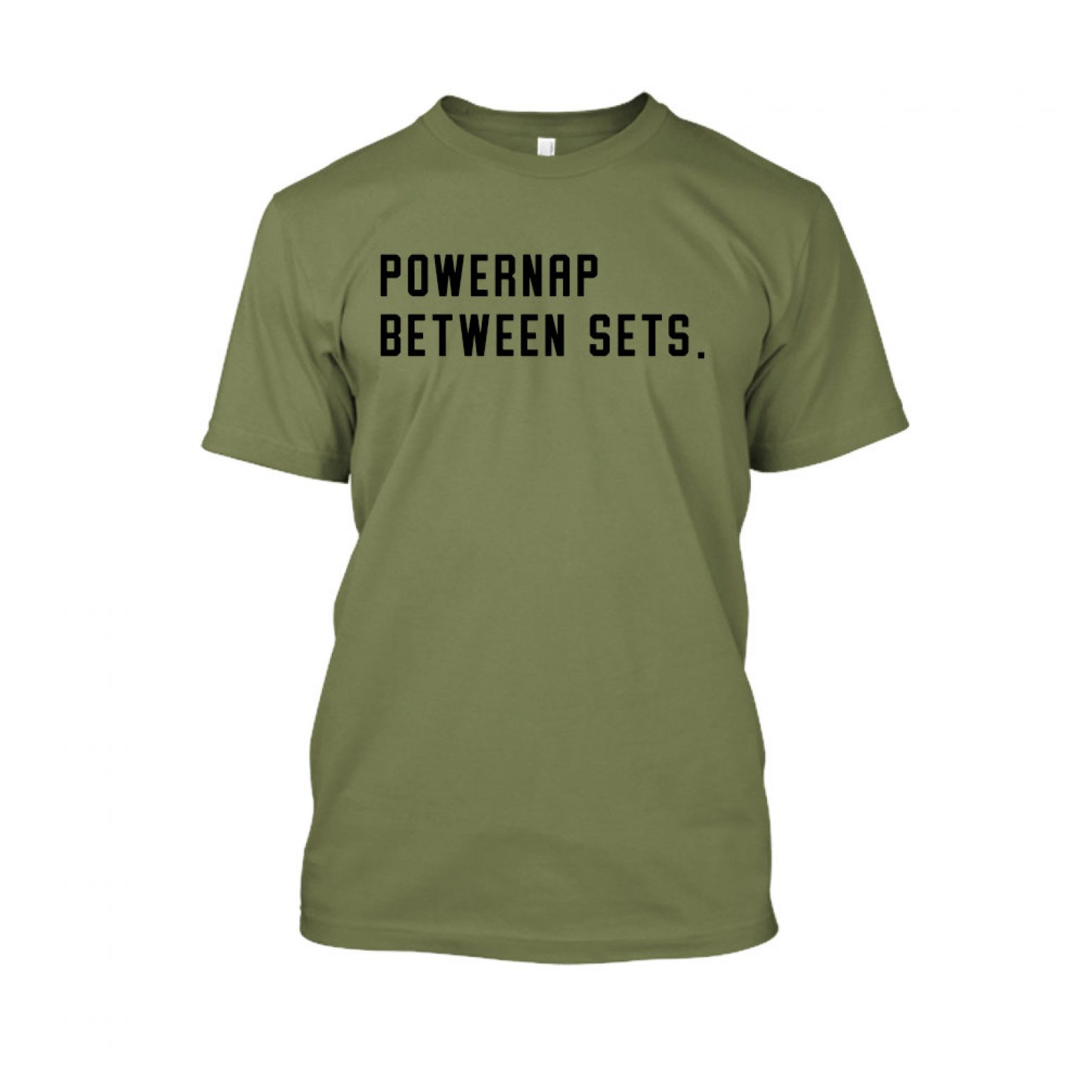 PBS shirt green front