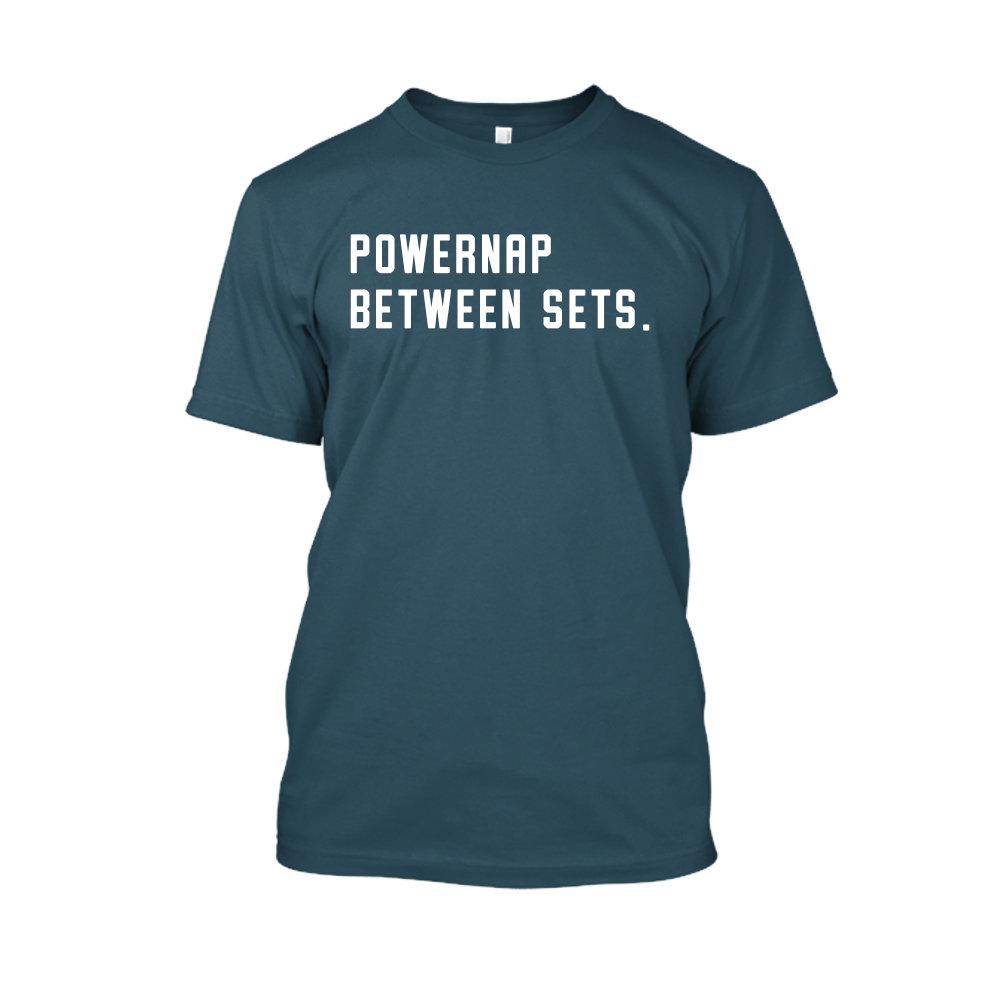 PBS shirt navyblue front
