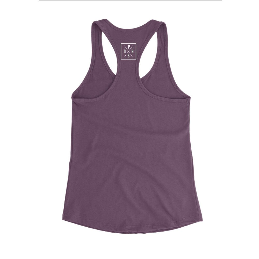 PBS tank aubergine back