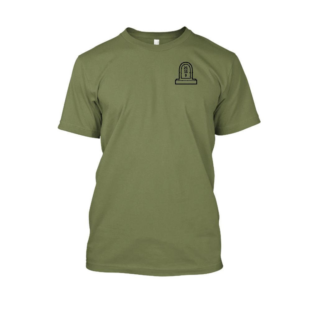 3numbers shirt herren green front