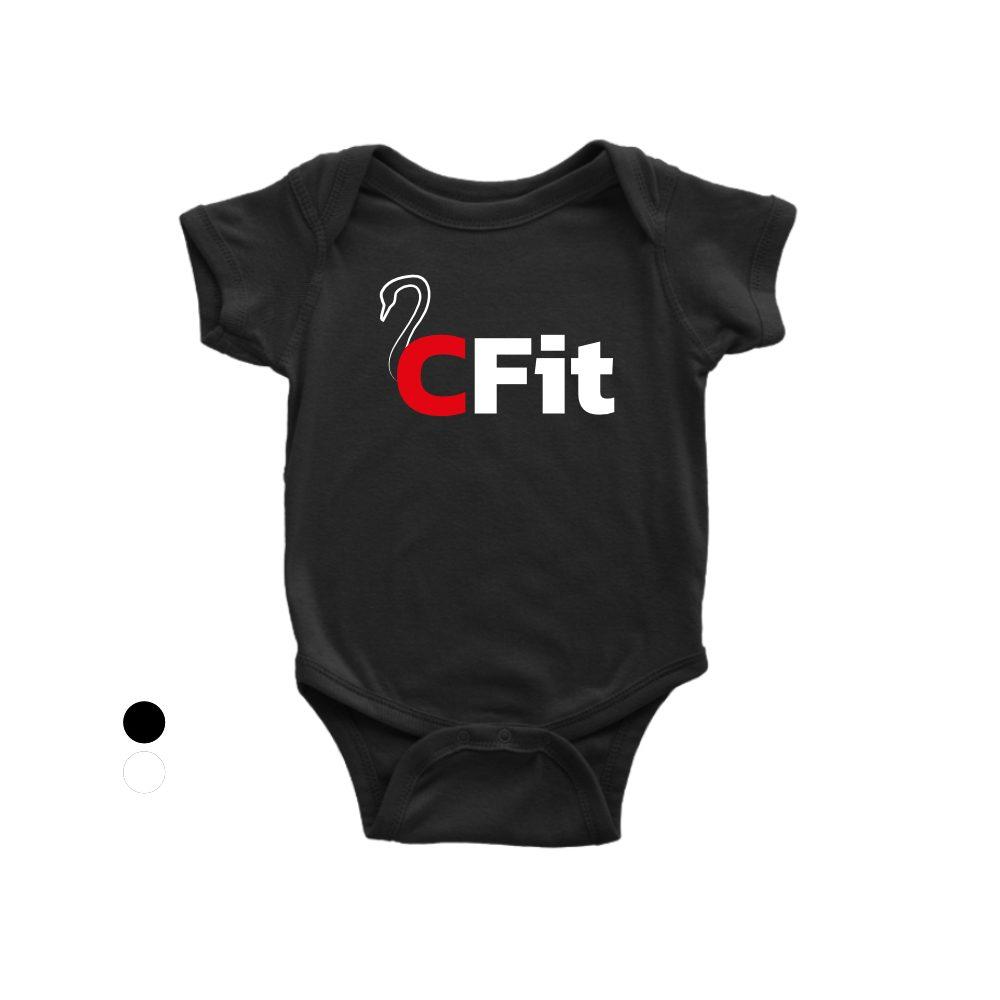 CFIT Babystrampler schwarz