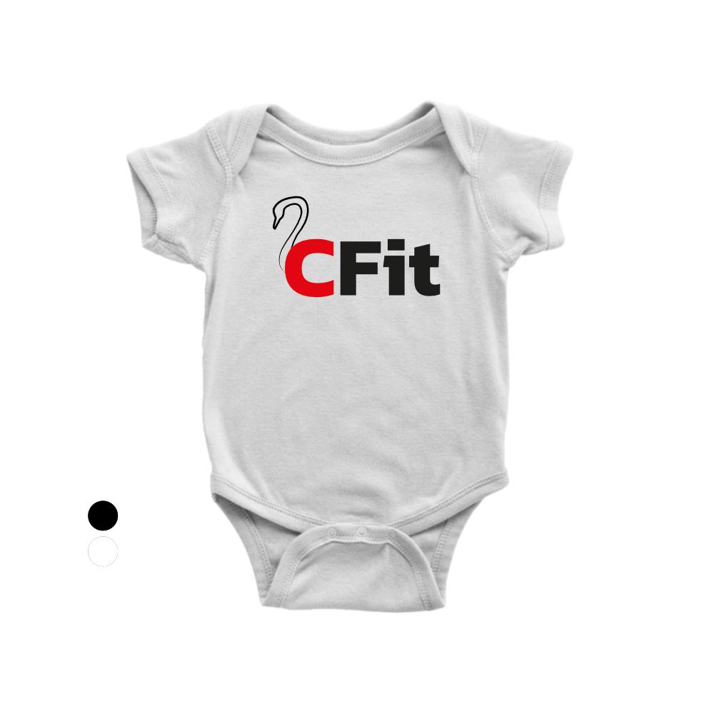 CFIT Babystrampler weiss