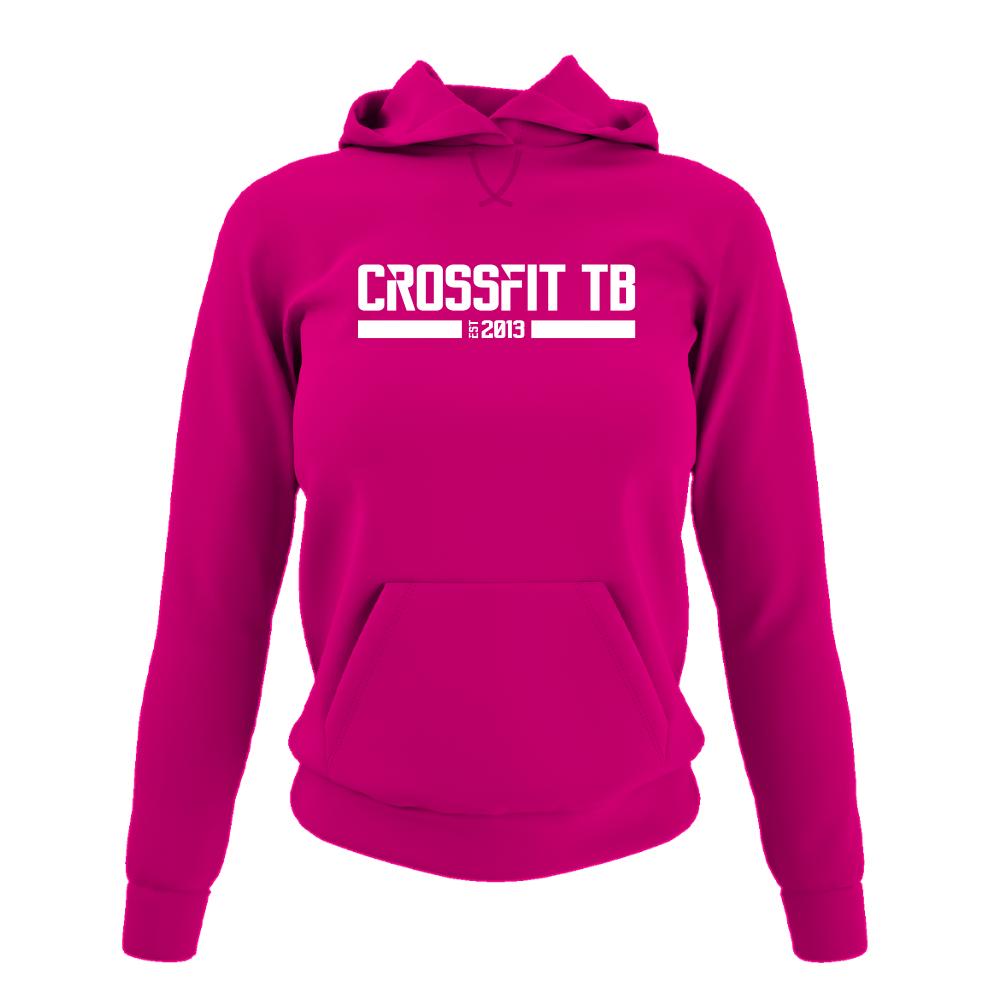 CrossFit TB Damen Hoodie Fuchsia