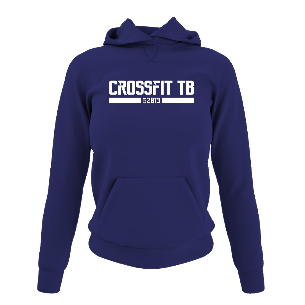 CrossFit TB Damen Hoodie Purple