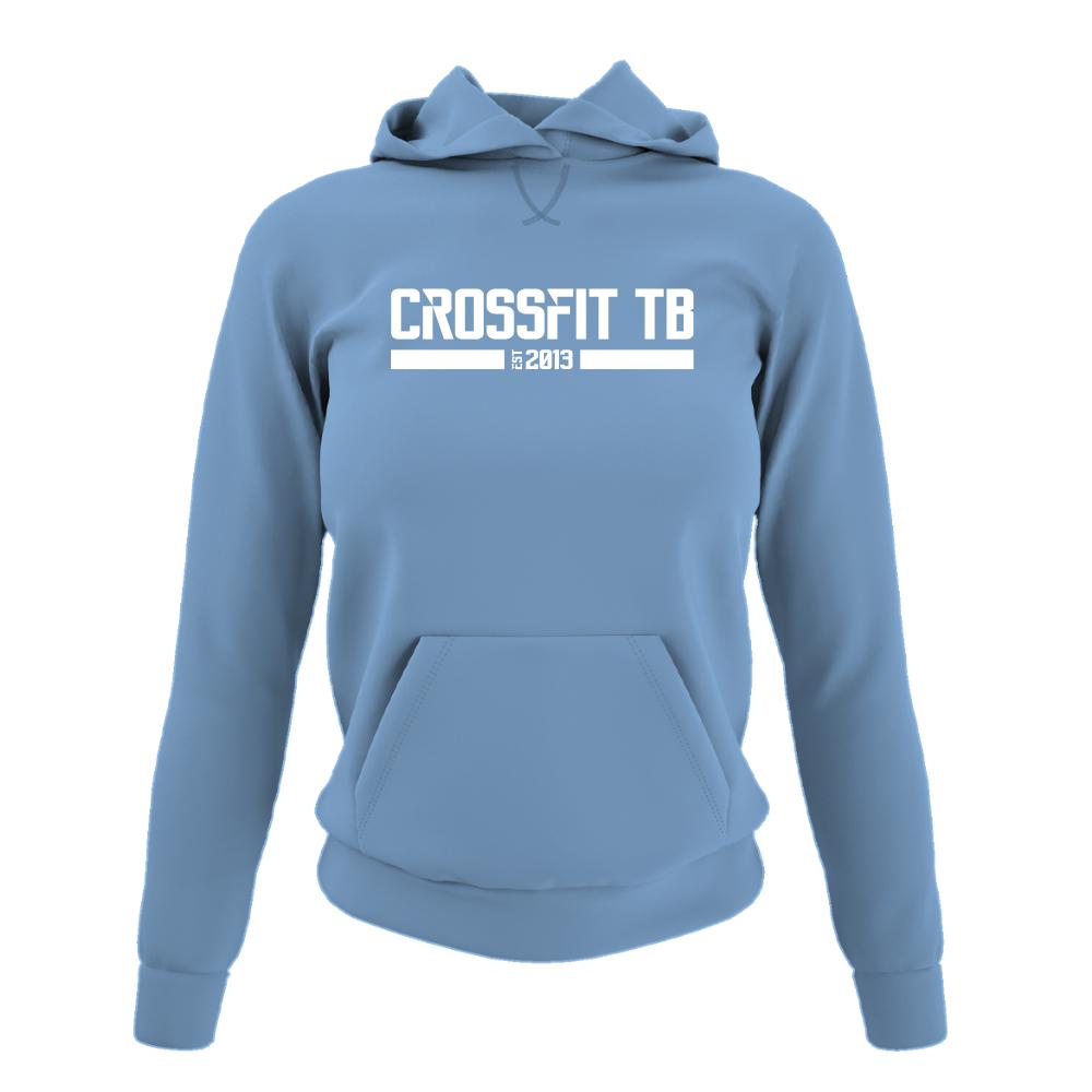 CrossFit TB Damen Hoodie Sky