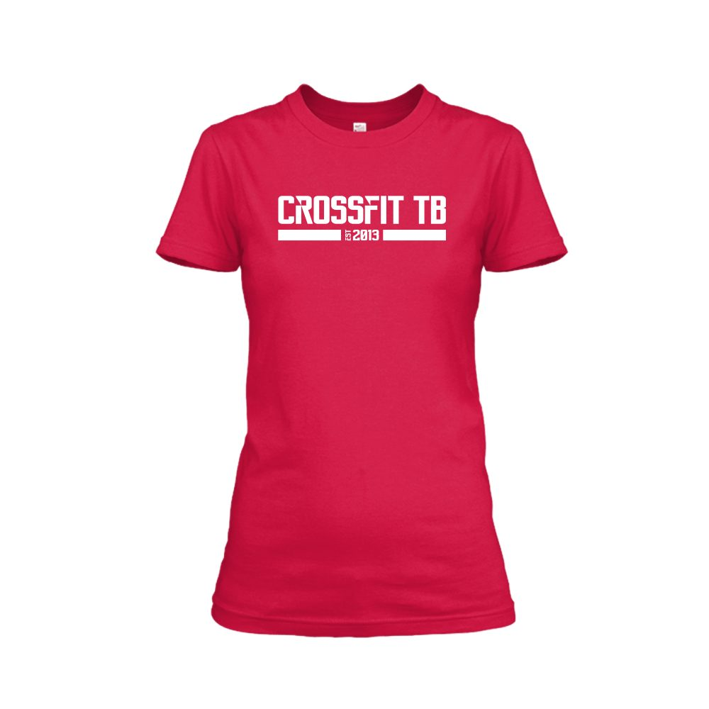 CrossFit TB Damen Shirt RED