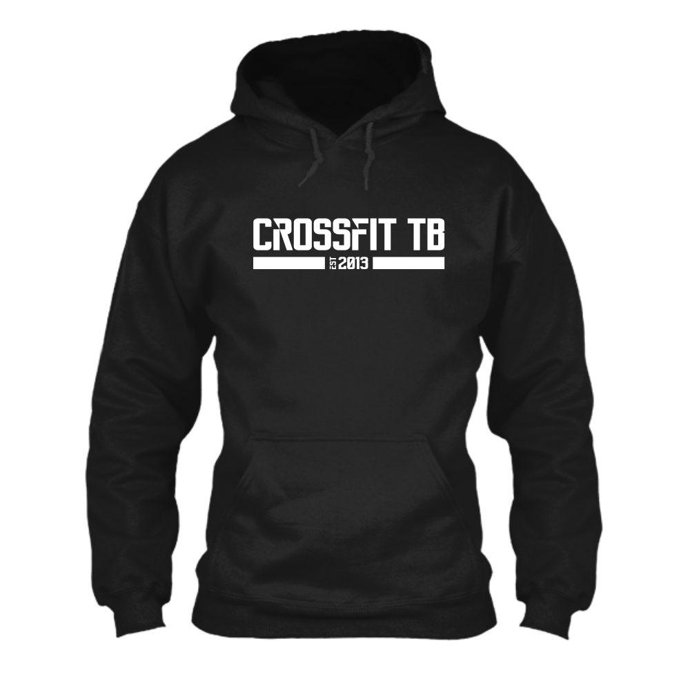 CrossFit TB Herren Hoodie Black