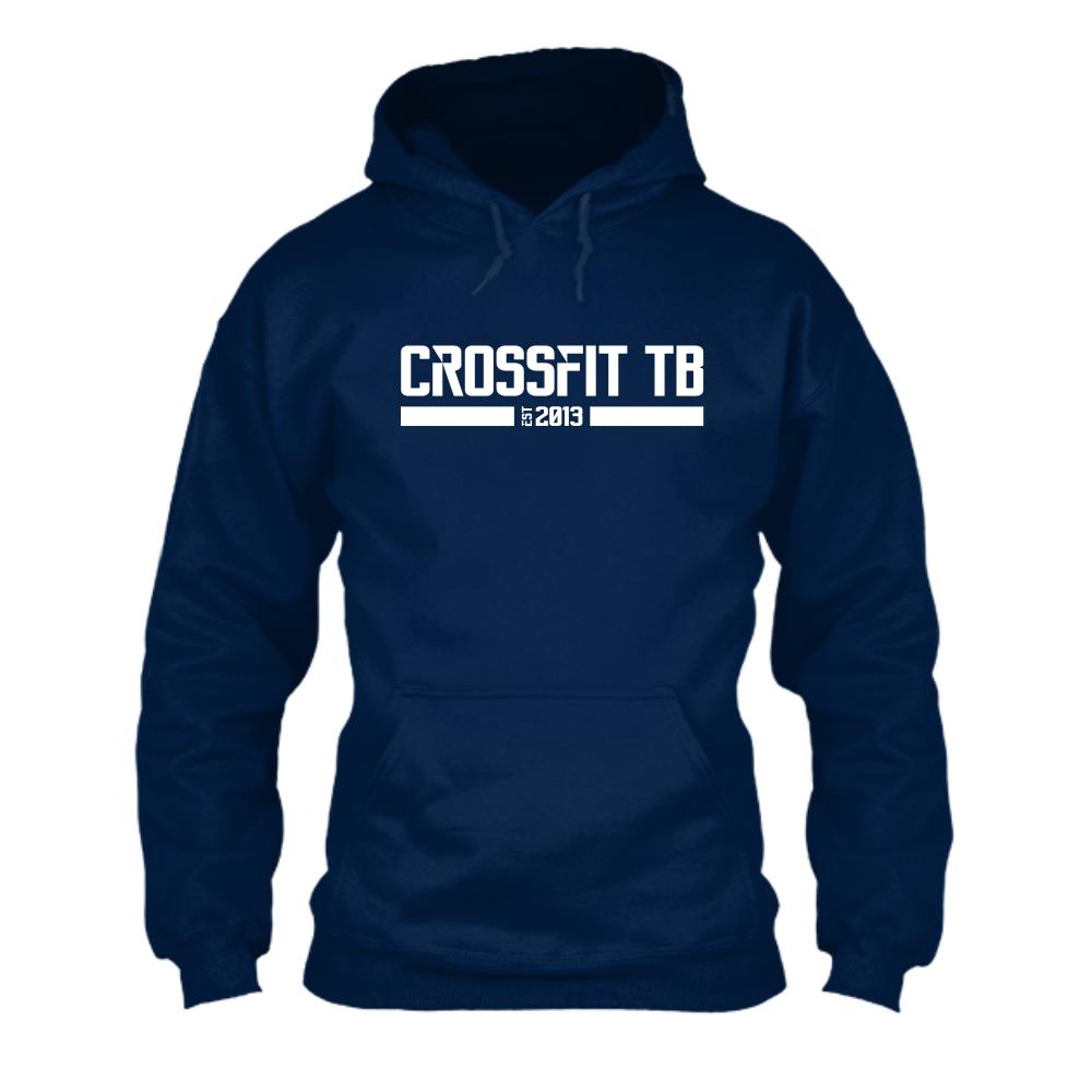 CrossFit TB Herren Hoodie Navy