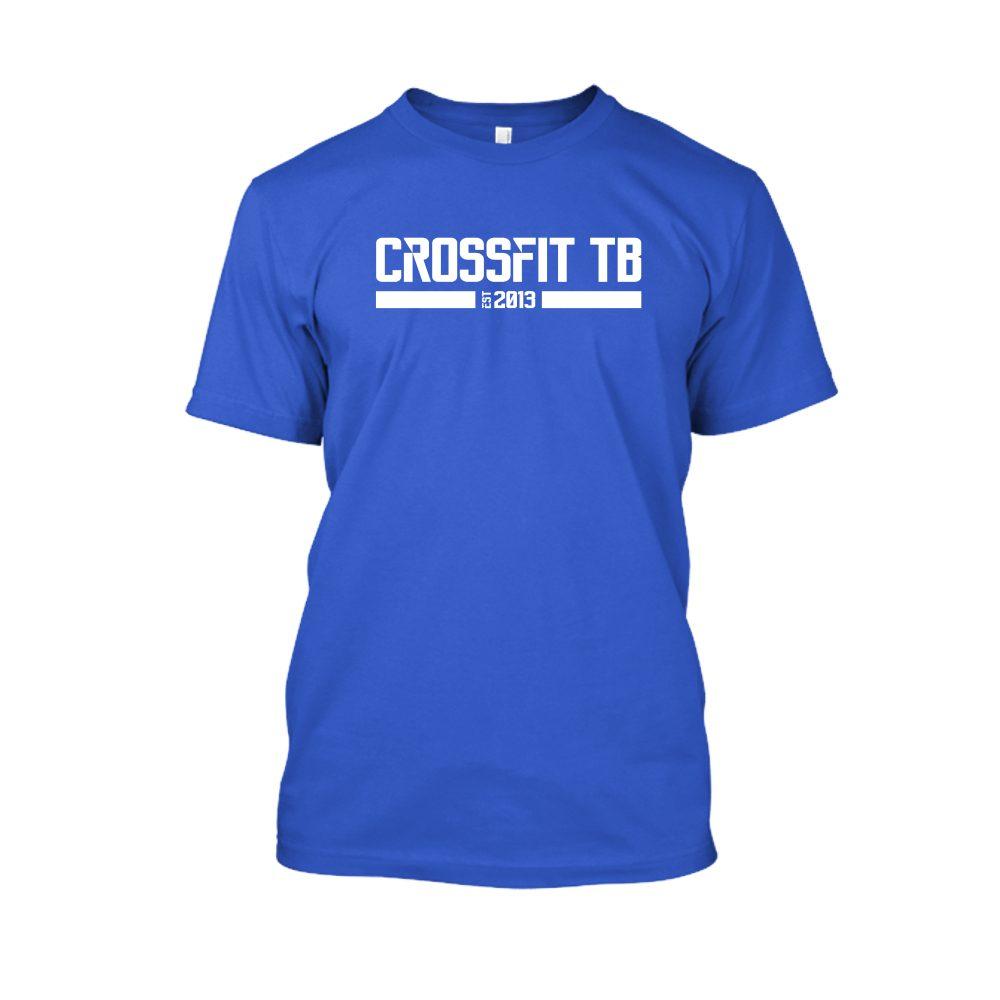 CrossFit TB Herren Shirt RYL BLU