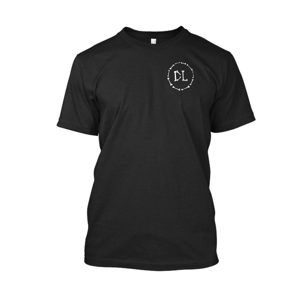 DLbones Shirt herren black front