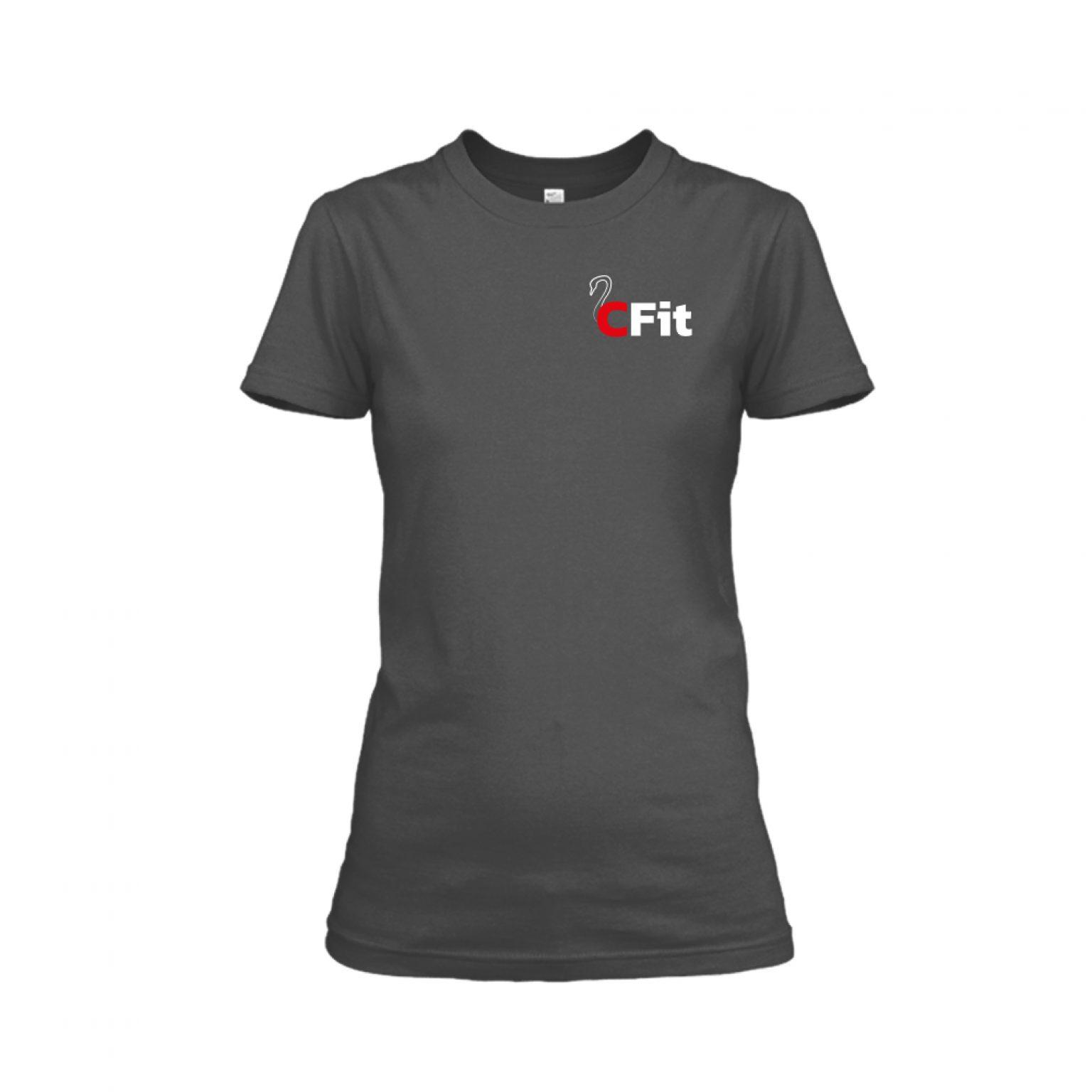 Damen Shirt charcoal2