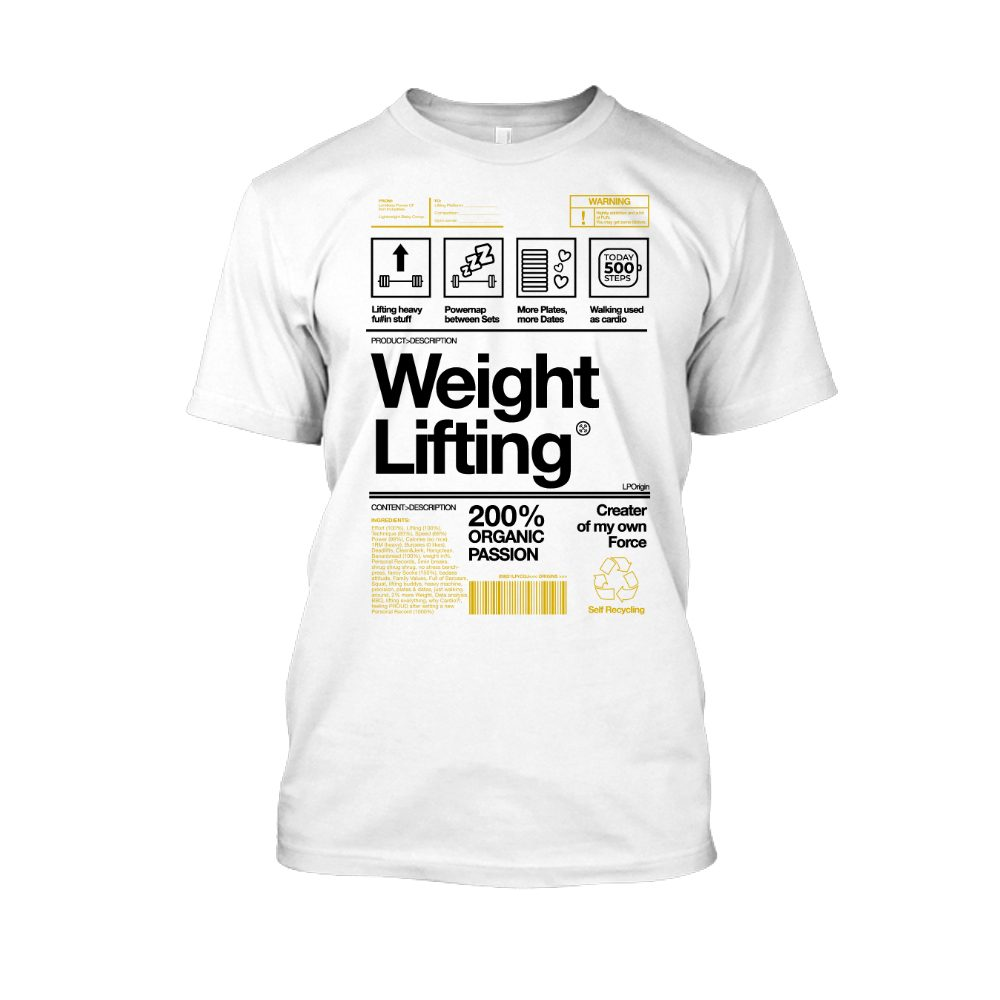 Herren Weightlifting weiss
