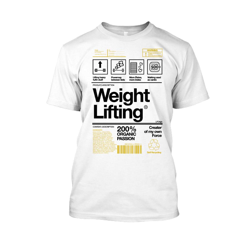 Herren Weightlifting weiss