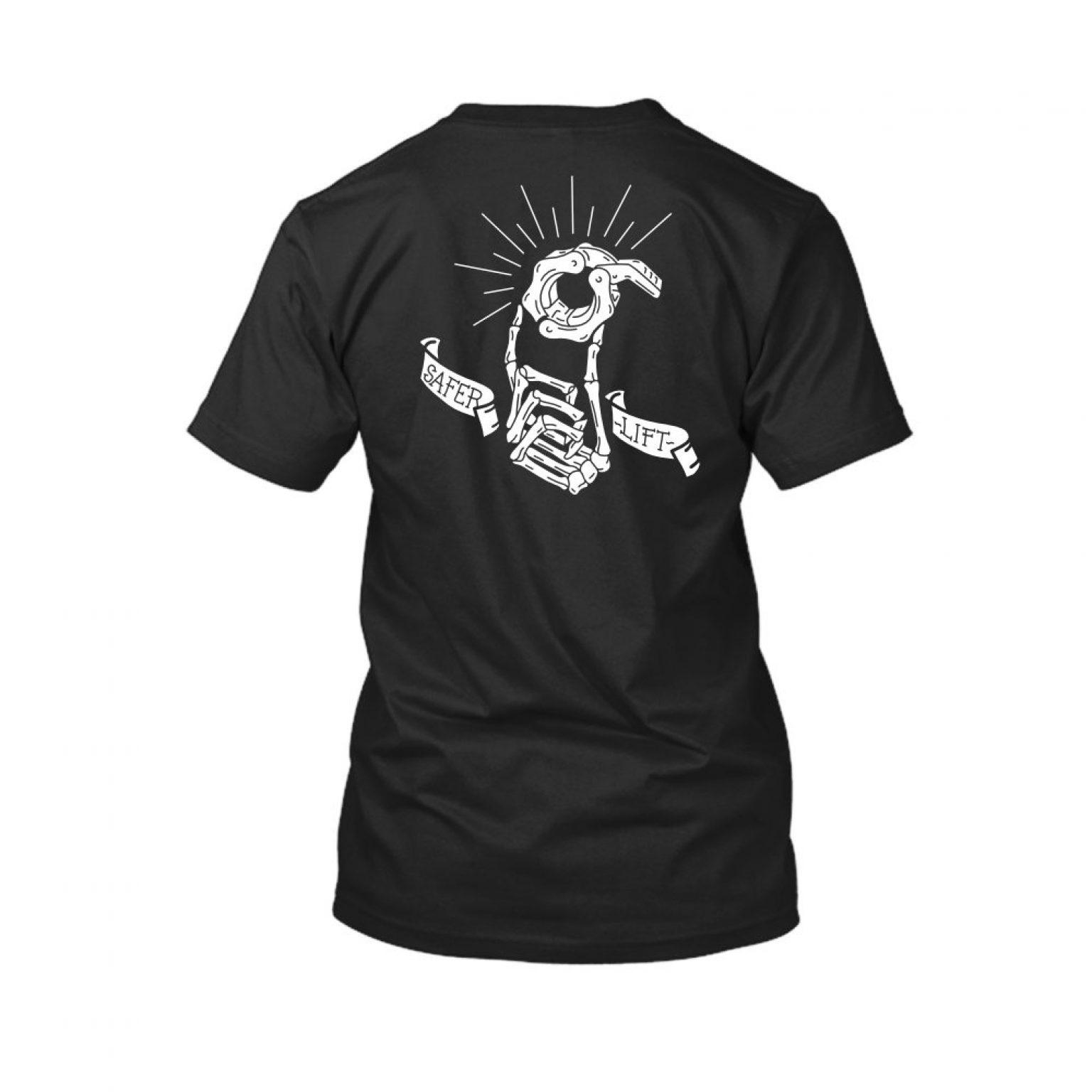 SaferLift shirt herren black back