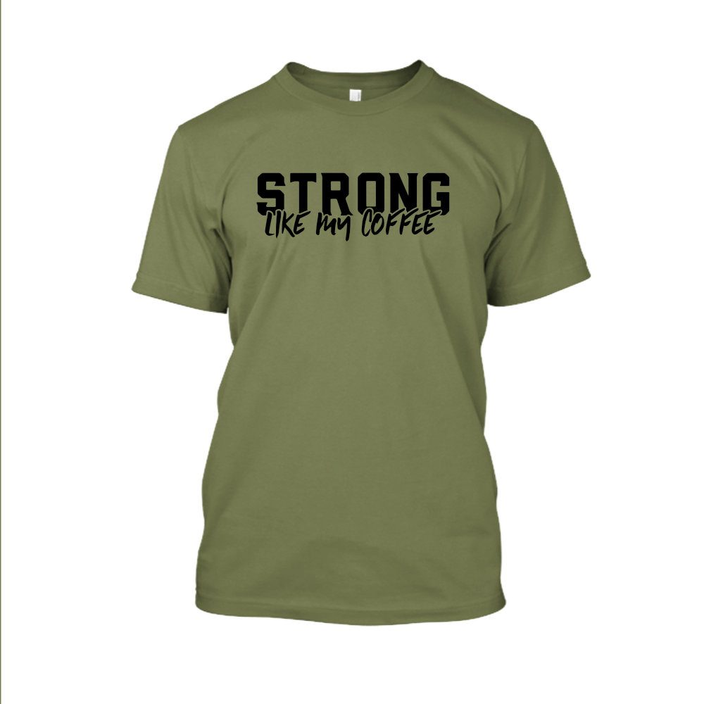 Strong likemycoffe Shirt herren green