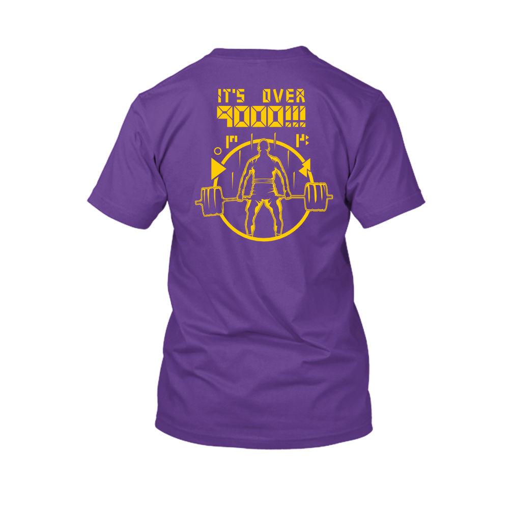 over9000 shirt herren purple back
