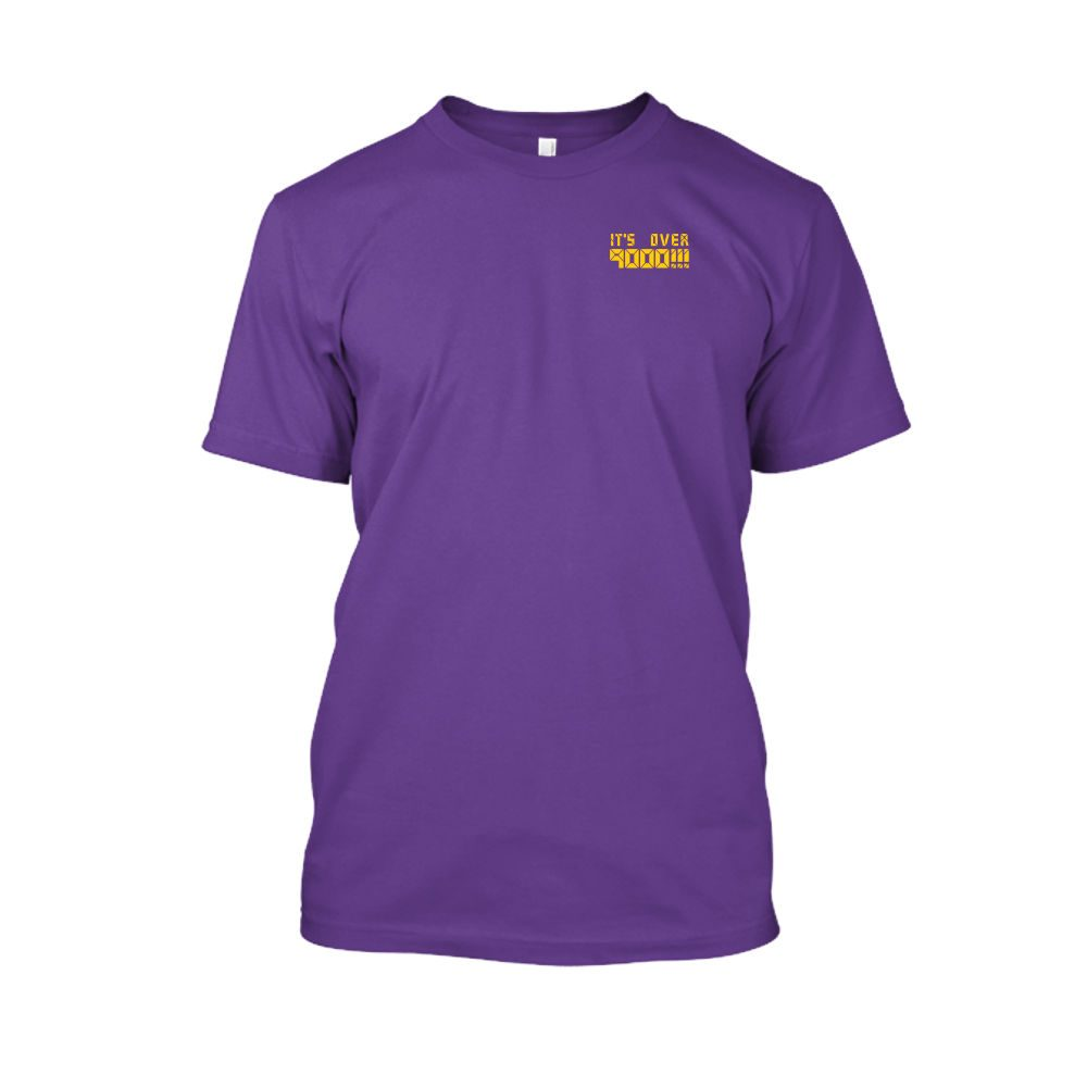 over9000 shirt herren purple front