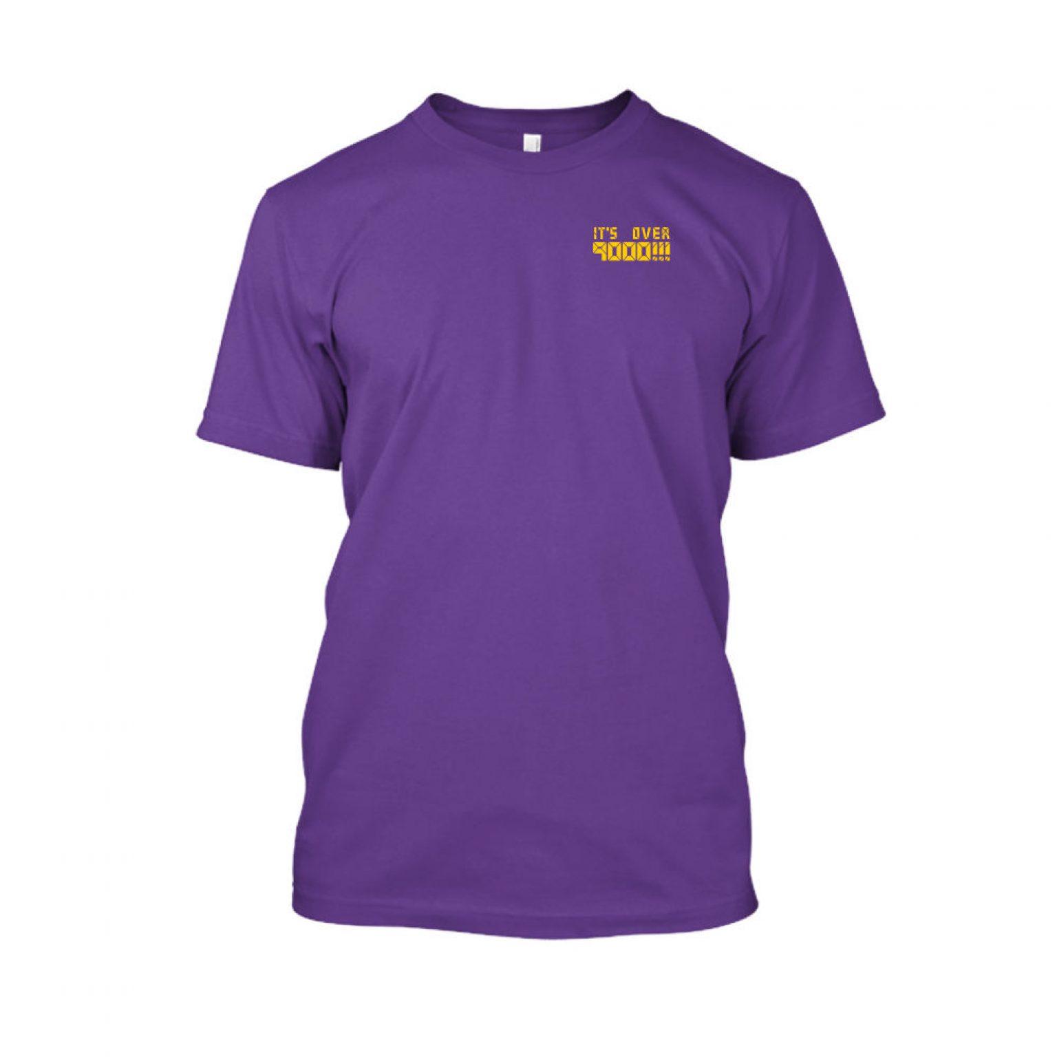 over9000 shirt herren purple front