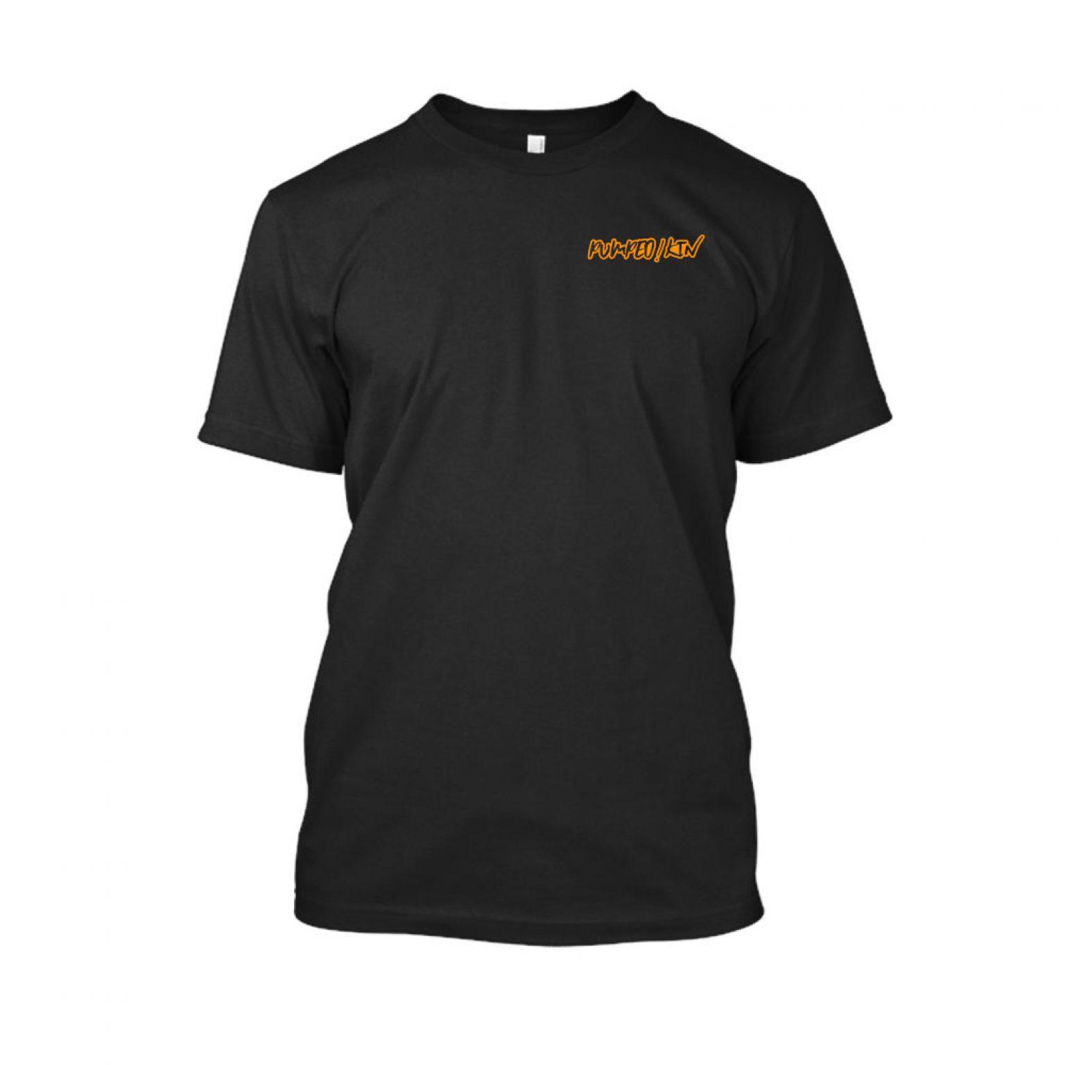 pumpedkin shirt herren black front